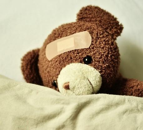 Kranker Teddybär 2