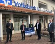 Spendenübergabe Raiffeisenbank Bläserklasse